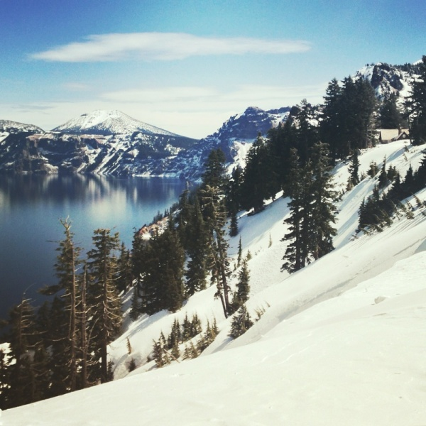 Crater Lake, OR (Instagram: @blueskyandhardrock)