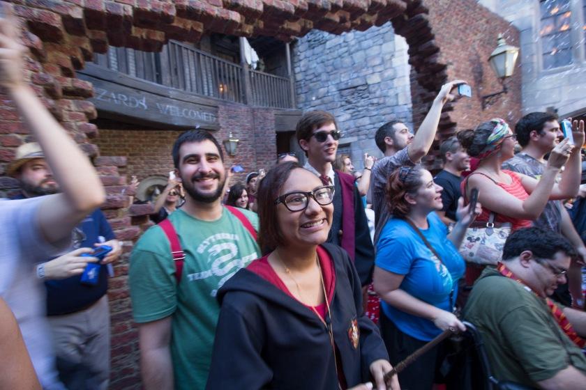 Diagon Alley Entrance (Courtesy Universal Orlando)