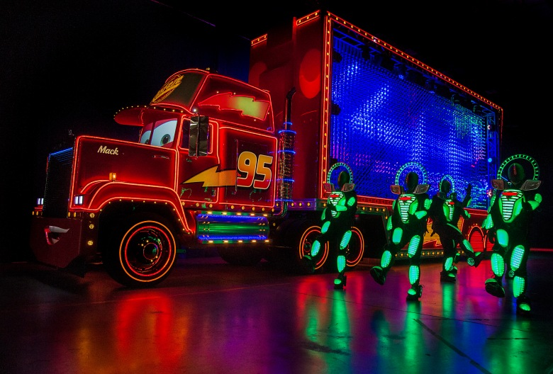 """MACK AND THE CARS CREW PREVIEW """"PAINT THE NIGHT"""" (Courtesy Disney)"""