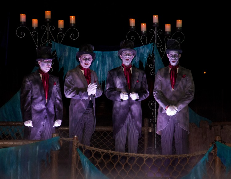 The Cadaver Dans Quartet (Courtesy Disney)
