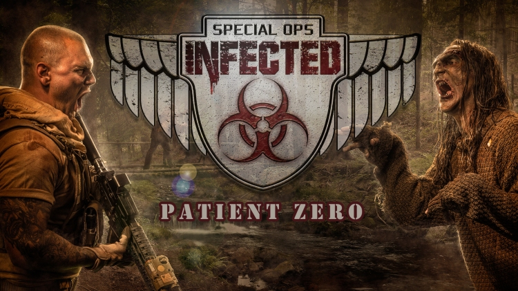 Knott's Scary Farm Special Ops Infected-Patient Zero (Courtesy Knott's Scary Farm)