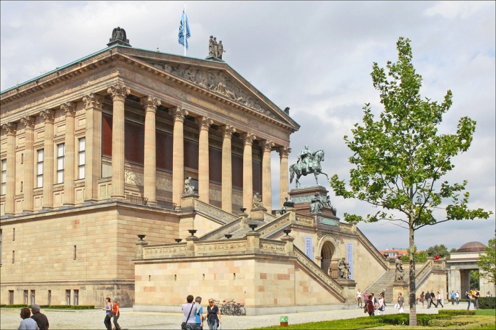 Alte Nationalgalerie (Flickr: Jean-Pierre Dalbéra)