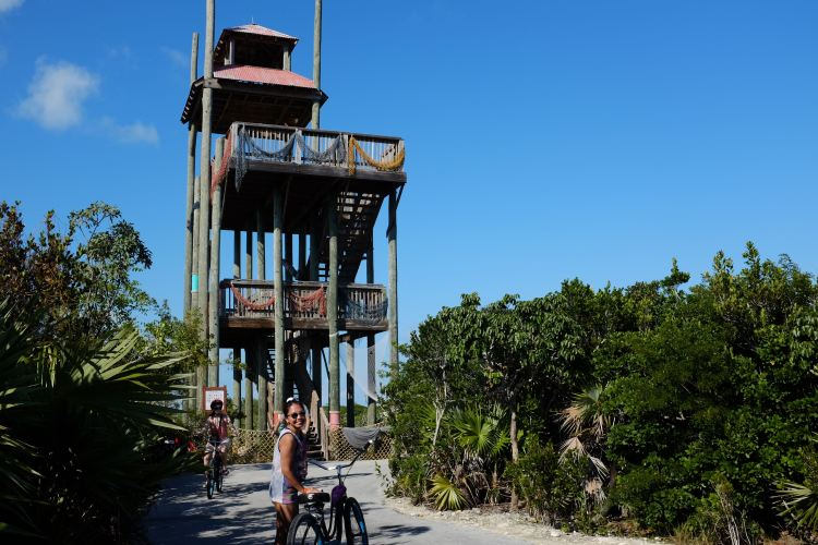 Tower on Castaway Cay (Photo: Michelle Rae)