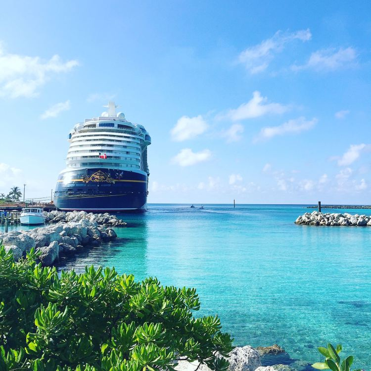Disney Dream from Castaway Cay (Photo: Michelle Rae)