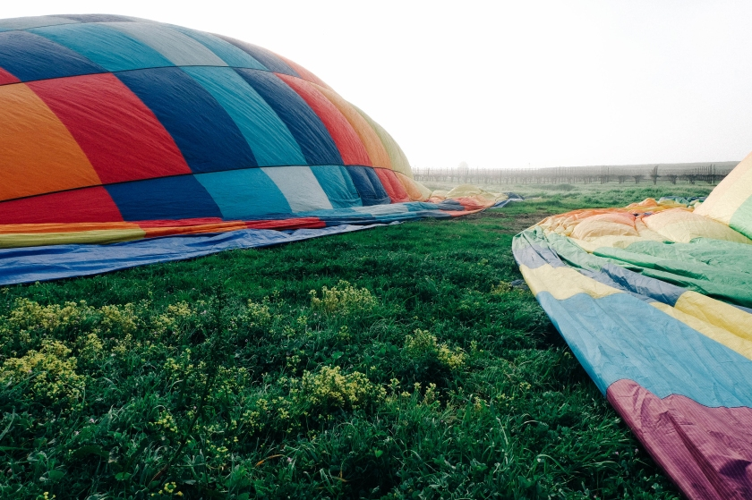 Hot Air Ballooning with Napa Valley Aloft (Photo: Michelle Rae Uy)