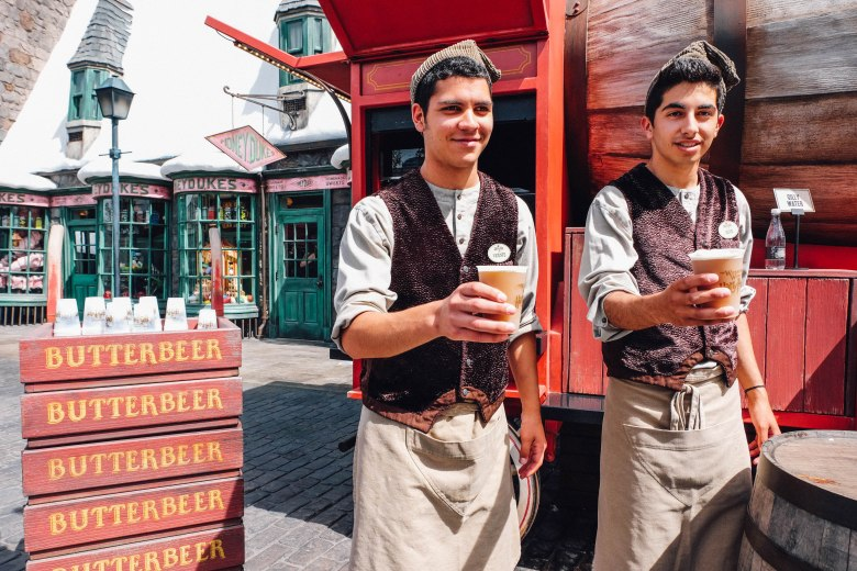 Yay for Butterbeer (Photo: Michelle Rae Uy)