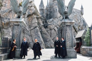 Students at Hogwarts (Photo: Michelle Rae Uy)