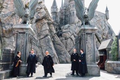 Students at Hogwarts (Photo: Michelle Rae Uy)