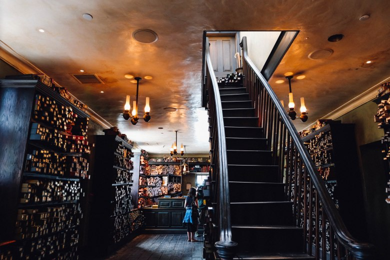 Inside Ollivander's (Photo: Michelle Rae Uy)