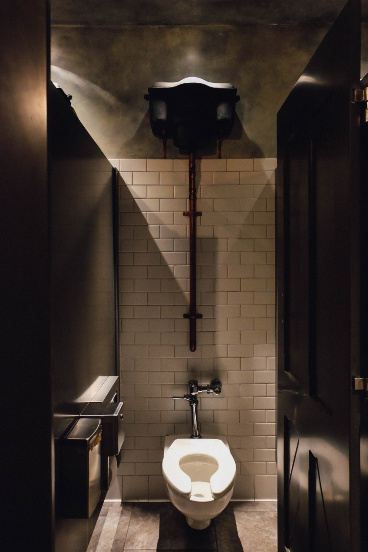 Even the bathrooms were designed like the bathrooms at Hogwarts (Photo: Michelle Rae Uy)