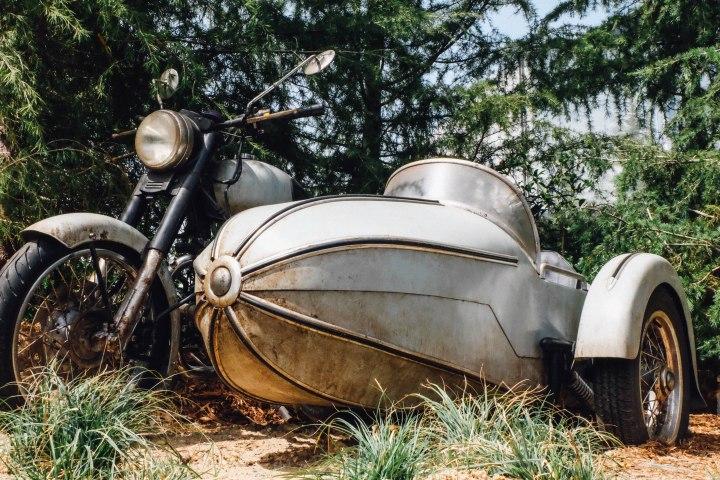Sirius' motorcycle (Photo: Michelle Rae Uy)