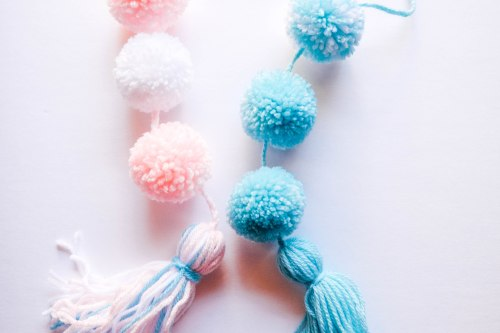Mexico Inspired Pom Pom Garland